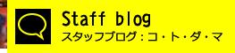 スタッフブログ:コトダマ